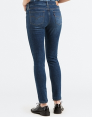 Levi's Women's 711 Skinny Stretch Mid Rise Skinny Jeans - Astro Indigo (Closeout)