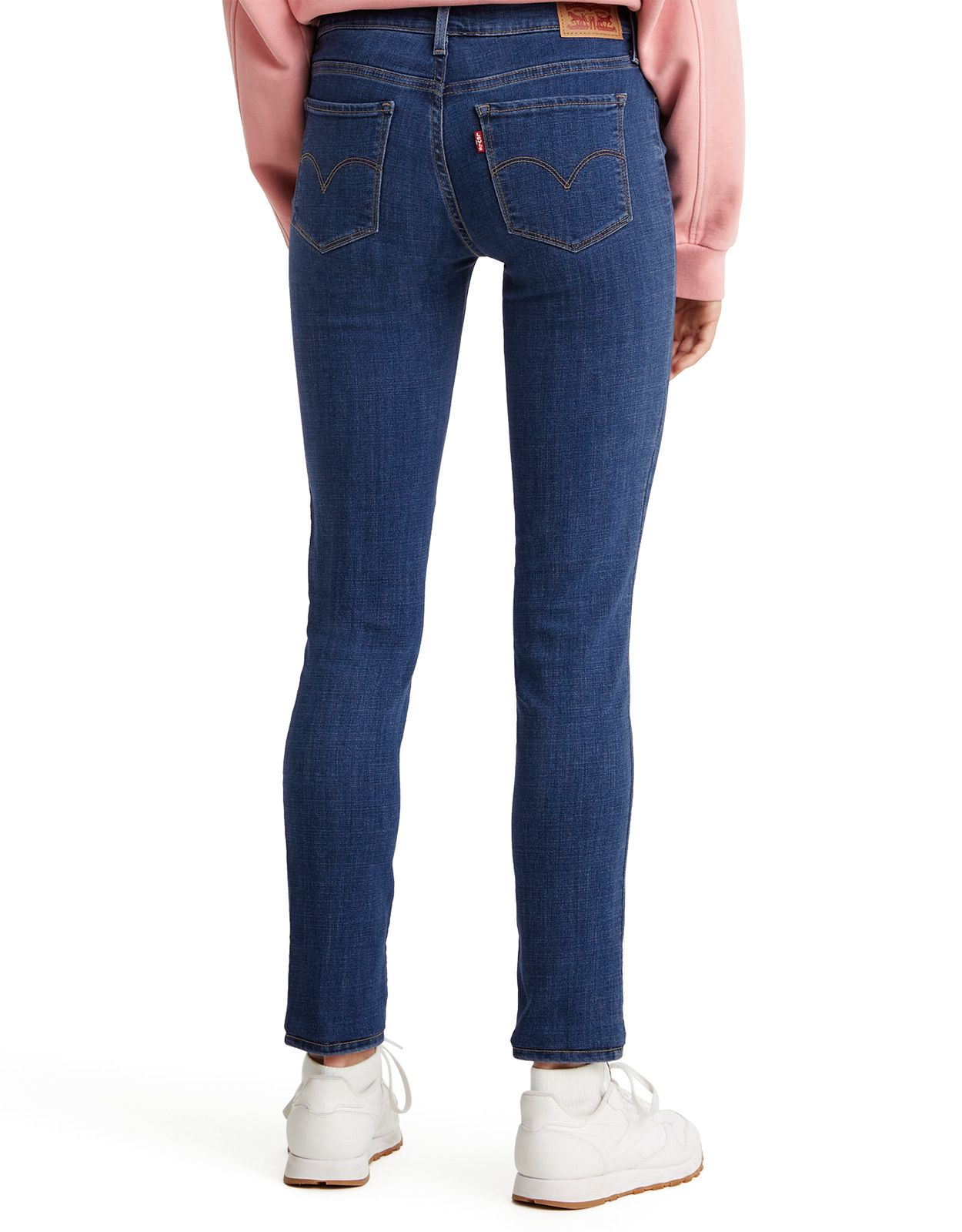 Levi's Women's 711 Skinny Stretch Mid Rise Skinny Jeans - Marine Overboard