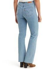 Levi's Women's Classic Bootcut Stretch Mid Rise Easy Fit Boot Cut Jeans - Slate Oahu Clouds