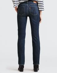 Levi's Women's Classic Straight Stretch Mid Rise Easy Fit Straight Leg Jeans - Seattle Blues