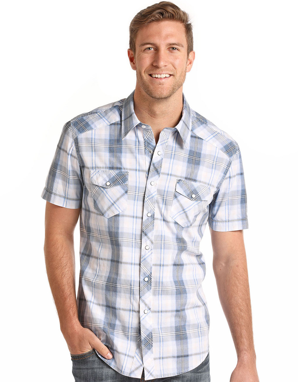 a7f08d1f Mens Panhandle Slim Short Sleeve Shirts - Cotswold Hire