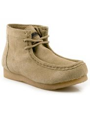 Roper Men's Gum Sole Chukka Shoes - Sand Suede