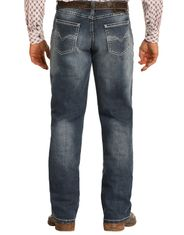 Tuf Cooper Men's Reflex Competition Fit Mid Rise Relaxed Fit Straight Leg Jeans - Medium Vintage