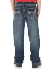 Wrangler Boy's 20X 42 Vintage Stretch Low Rise Slim Fit Boot Cut Jeans (Sizes 1T-7) - Midland