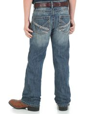 Wrangler Boy's 42 Low Rise Slim Fit Boot Cut Jeans (Sizes 1T-7) - Breaking Barriers