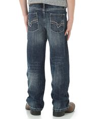 Wrangler Boy's 42 Low Rise Slim Fit Boot Cut Jeans (Sizes 1T-7) - Canyon Lake