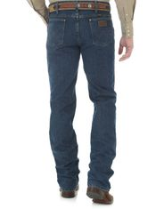 Wrangler Men's 36 Slim Premium Performance Advanced Comfort Mid Rise Slim Fit Boot Cut Jeans - Mid Stone