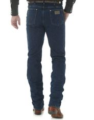 Wrangler Men's 936 Cowboy Cut High Rise Slim Fit Boot Cut Jeans - Dark Stone