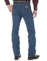 Wrangler Men's 936 Cowboy Cut High Rise Slim Fit Boot Cut Jeans - Stonewashed
