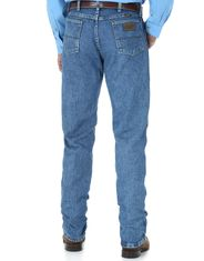 Wrangler Men's George Straight 13 High Rise Regular Fit Boot Cut Jeans - Stone Wash