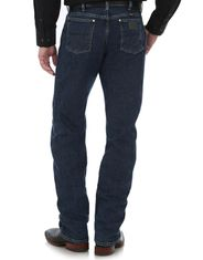 Wrangler Men's George Straight 47 Stretch Mid Rise Regular Fit Boot Cut Jeans - Dark Amarillo