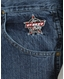Wrangler Men's PBR High Rise Slim Fit Boot Cut Jeans - Authentic Stone