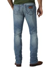 Wrangler Men's Retro Stretch Low Rise Slim Fit Straight Leg Jeans - Jacksboro