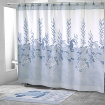 Caicos Shower Curtain & Bathroom Accessories By Avanti Linens