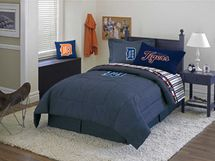 Detroit Pistons NBA Basketball Comforter & Sheet Set-Twin Size