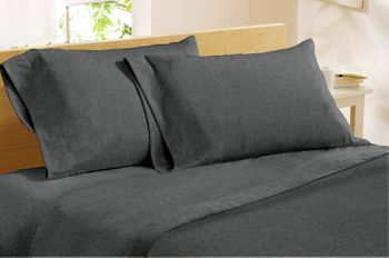 Dormisette Luxury German Flannel Sheets & Pillowcases -Solid Colors