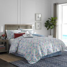 Dory Lane Multi-Color Comforter Set By Southern Tide