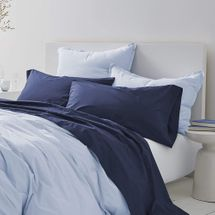 Gryphon Home Comfort Washed Duvet Cover Set