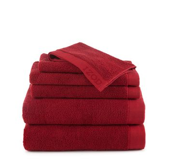 IZOD Classic Cotton 6 Piece Towel Sets