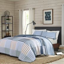 IZOD Evan Patchwork Quilt Set