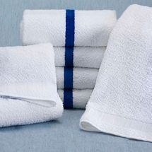 Martex Blue Striped 6-Pack Pool Towels