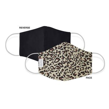 Martex Health Standard Face Mask Natural Leopard-Single Pack