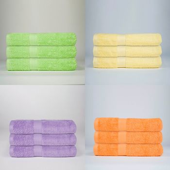 Martex Staybright 3-Pack Pool Towels-100% Cotton
