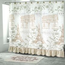 Paris Botanique Shower Curtain & Accessories By Avanti Linens