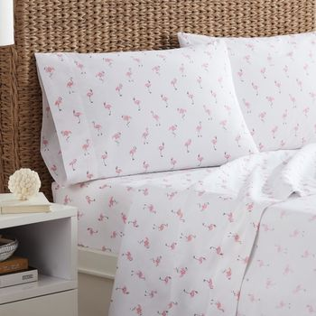 Southern Tide Flamingos Sheet Set