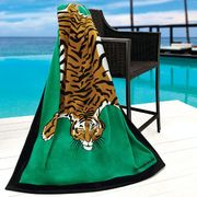 Tiger Beach Towel By Jonathan Adler