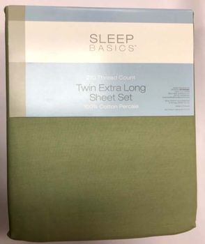 XL Twin Sheet Sets T210 100% Cotton
