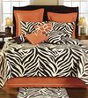 Zebra Cotton Filled Twin Quilt