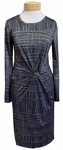 Anni Kuan San Angel Dress - Gray Mix. (Size S & L)