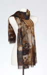 Banaris Merino & Silk Stole - Grotto SOLD OUT