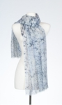 Banaris Merino & Silk Individual Print Stole - Origami - SOLD OUT