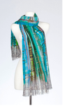 Banaris Merino & Silk Stole - Viridian- SOLD OUT