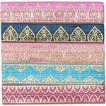 Banded Hair Ties - Classic Indian Palace Ties