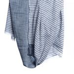 Bloom & Give Malabar Khadi Cotton Scarf - Blue - SOLD OUT