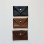 CB Studio Card Wallet - Brown Leather