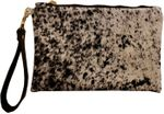 CB Studio Hair on Hide Emily Clutch - Black/White - SOLD OUT