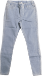 Eileen Fisher Organic Cotton Stretch Jean Legging - Light Blue (Size XS) - SOLD OUT