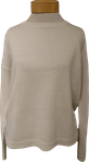 Eileen Fisher Organic Linen Cotton Crew Neck Box Top - White (Size L)