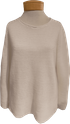 Eileen Fisher Organic Linen Cotton Jewel Neck Box Top - White