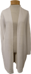 Eileen Fisher Organic Linen Cotton Long Cardigan - White