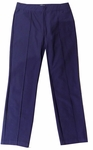 Eileen Fisher Washable Stretch Crepe Ankle Pant - Midnight