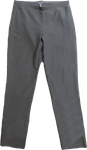 Eileen Fisher Washable Stretch Crepe Pant - Woodland - (Size XS)