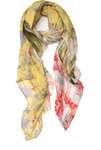 Elizabeth Gillett Tapestry Floral Scarf - Yellow