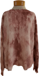 Fate Distressed Tie Dye Sweater - Mauve - SOLD OUT