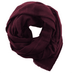 Foxtail Goods Cashmere Scarf - Berry