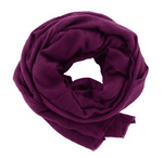 Foxtail Goods Cashmere Scarf - Magenta - SOLD OUT